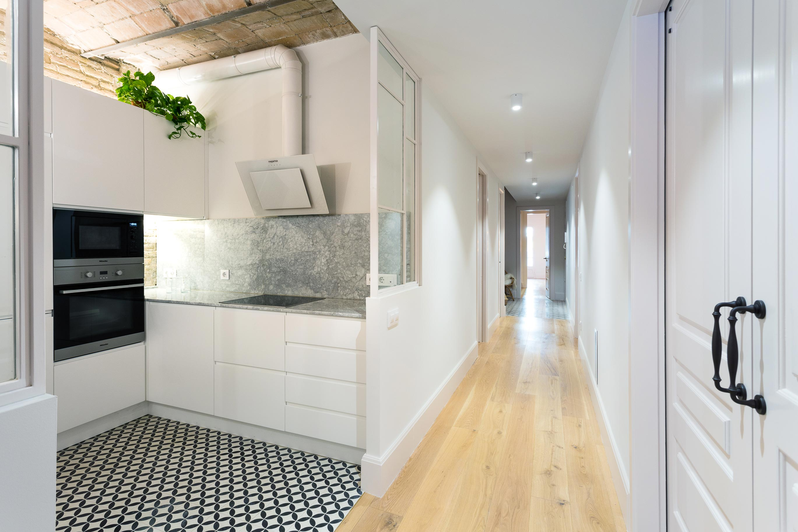 Reforma de pis amb pati